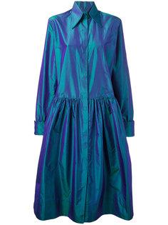 платье-рубашка с застежкой на липучках Christopher Kane