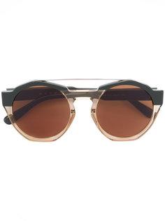 круглые солнцезащитные очки Marni Driver Marni Eyewear