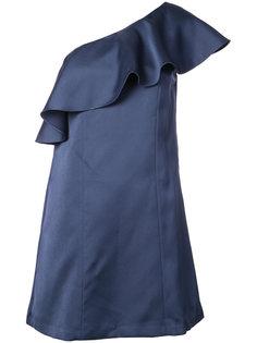 платье с оборками Julia  Zac Zac Posen