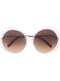солнцезащитные очки Carlina Chloé Eyewear