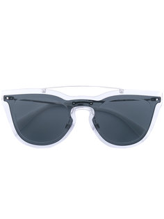 декорированные солнцезащитные очки Valentino Garavani Rockstud Valentino Eyewear
