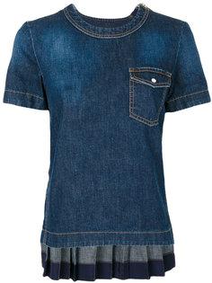 джинсовый топ Sacai