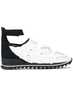 декорированные кроссовки с ремешком на щиколотке No Ka Oi