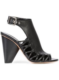 босоножки с декоративной шнуровкой Derek Lam