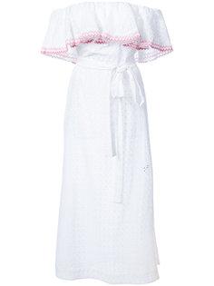 платье с открытыми плечами Lisa Marie Fernandez