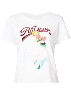 футболка с принтом Re/Done