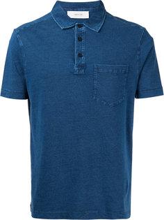 футболка-поло с нагрудным карманом Cerruti 1881