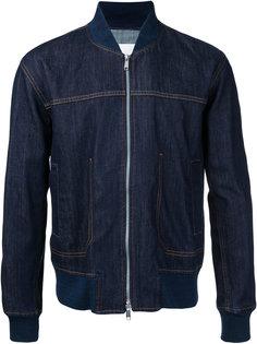 джинсовая куртка-бомбер  Cerruti 1881