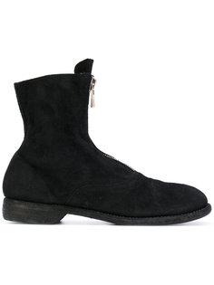 ботинки с молниями спереди Guidi
