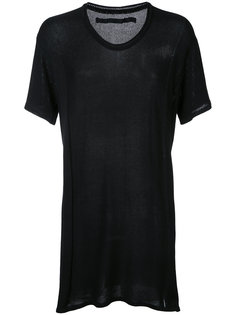 трикотажная футболка с вырезом-ковш Julius