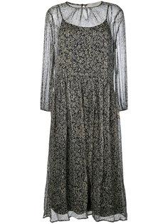 платье-шифт с вышивкой Vanessa Bruno Athé