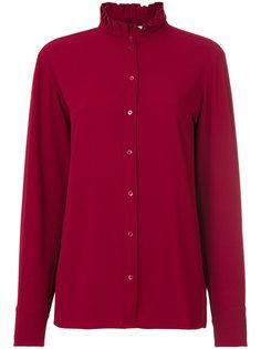 рубашка с плиссированным воротником  Vanessa Bruno