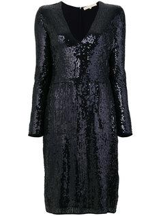 платье с V-образным вырезом и пайетками  Vanessa Bruno