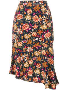 плиссированная юбка с цветочным принтом  Vanessa Bruno