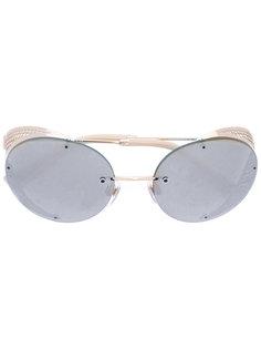 солнцезащитные очки с овальной оправой Valentino Garavani  Valentino Eyewear