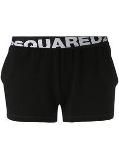 шорты с логотипом Dsquared2