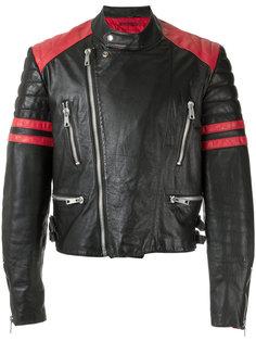 hand-painted biker jacket À La Garçonne