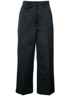 атласные укороченные брюки Rochas