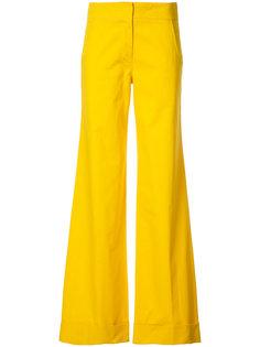 удлиненные расклешенные брюки Derek Lam