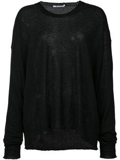 вязаный свитер Alexander Wang