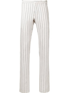 узкие брюки в полоску Andrea Pompilio