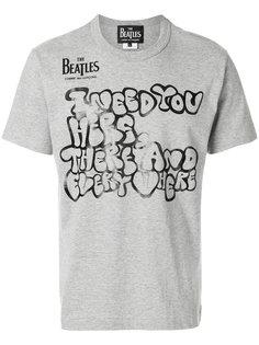 футболка The Beatles X Comme des Garçons The Beatles X Comme Des Garçons