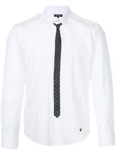 рубашка с принтом галстука Loveless