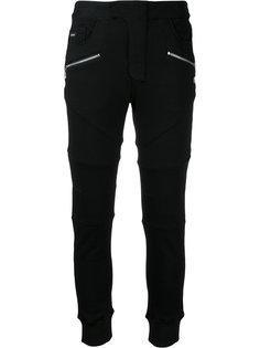 спортивные брюки с карманами на молнии Loveless