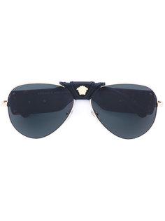 солнцезащитные очки-авиаторы Versace