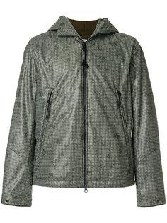 куртка с прозрачными вставками на капюшоне CP Company