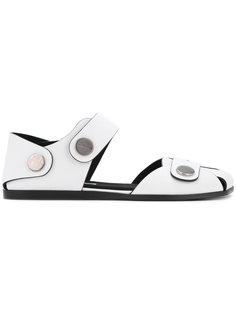 сандалии с заклепками Stella McCartney
