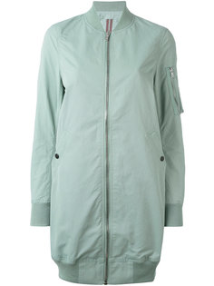 удлиненная куртка-бомбер  Rick Owens DRKSHDW