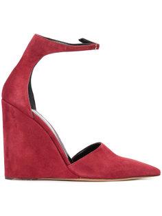 туфли с ремешком на щиколотке Derek Lam