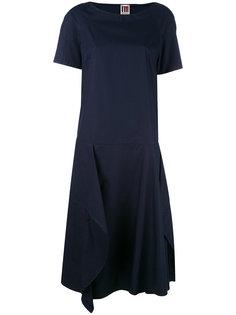 платье шифт с драпировкой IM Isola Marras