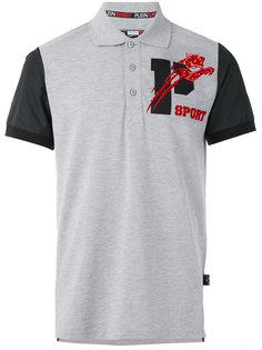 футболка-поло с логотипом Plein Sport