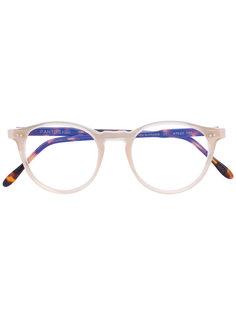 очки с контрастной оправой Pantos Paris