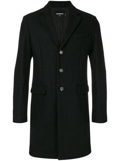 классическое однобортное пальто Dsquared2