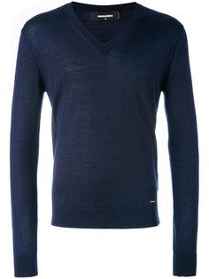 свитер с V-образным вырезом Dsquared2