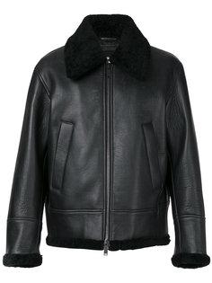 куртка-авиатор с отделкой овчиной Dsquared2