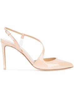 туфли с асимметричным ремешком Francesco Russo