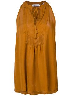 блузка без рукавов с горловиной на завязке A.L.C.