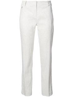 полосатые строгие брюки Elie Tahari