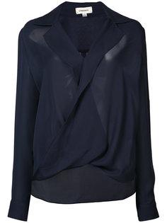блуза с перекрученной деталью Lagence