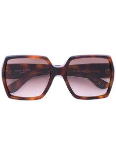 солнцезащитные очки в геометрической оправе Saint Laurent Eyewear