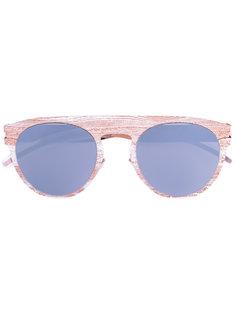 солнцезащитные очки в круглой оправе Mykita