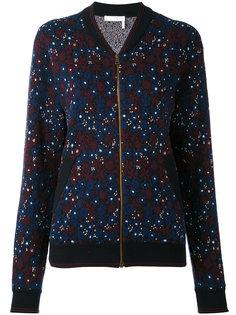 куртка-бомбер с цветочным принтом Chloé