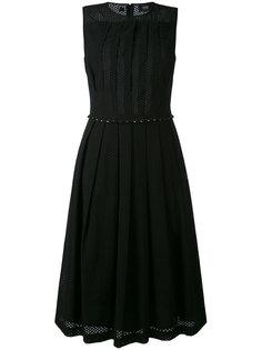 вышитое платье с расклешенной юбкой Cavalli Class