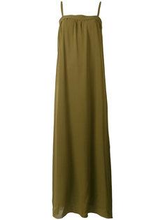 длинное платье с открытыми плечами Vince