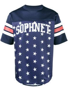 футболка с принтом звезд Sophnet.