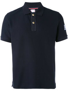 футболка-поло с заплаткой Moncler Gamme Bleu